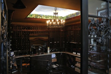Wine Cellar Mural, the perfect balance of art and fermentation